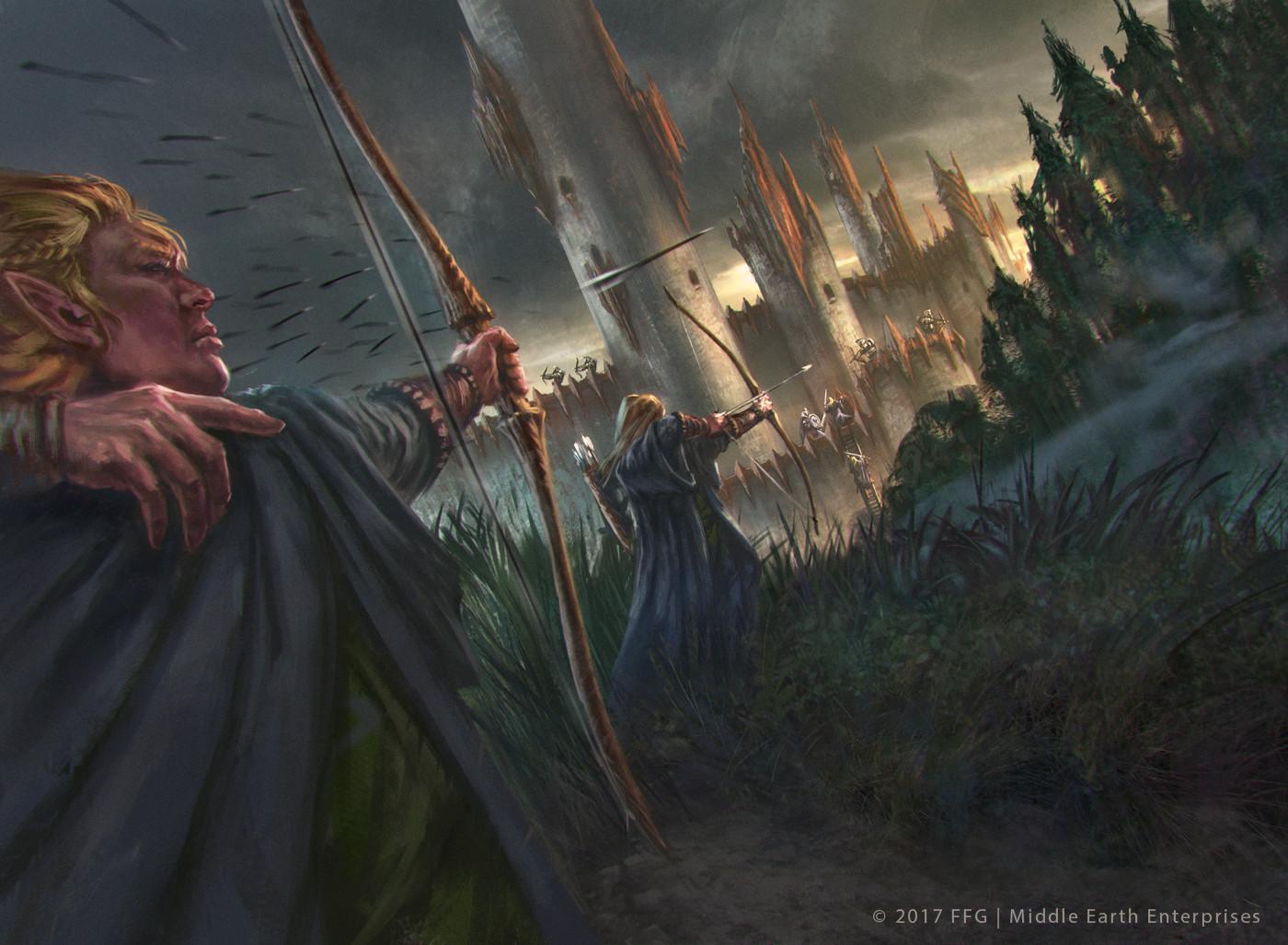 The Siege of Dol Guldur