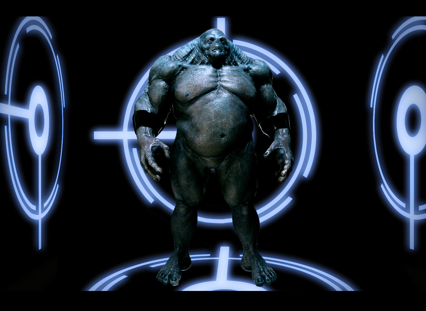 'Big Blue' done for Autodesk siggraph masterclass 2009 / 2010