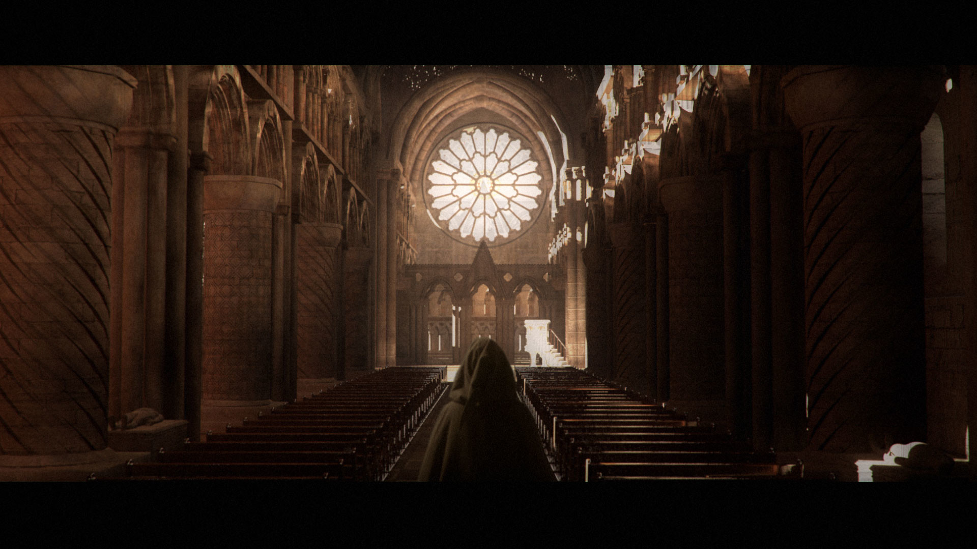 Durham Cathedral Interior - done for FXPHD course years back