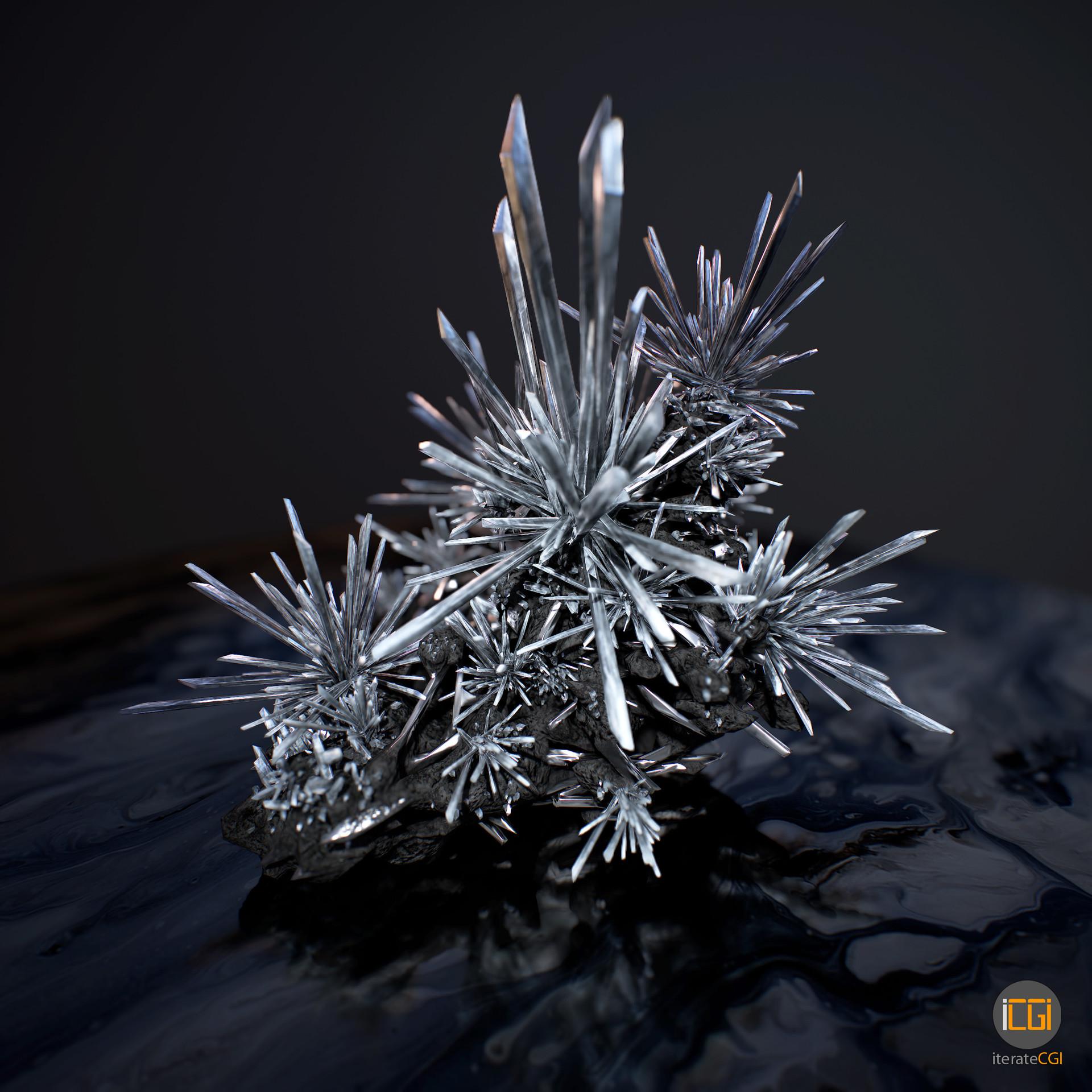 Johan de leenheer 3d cristals preview1