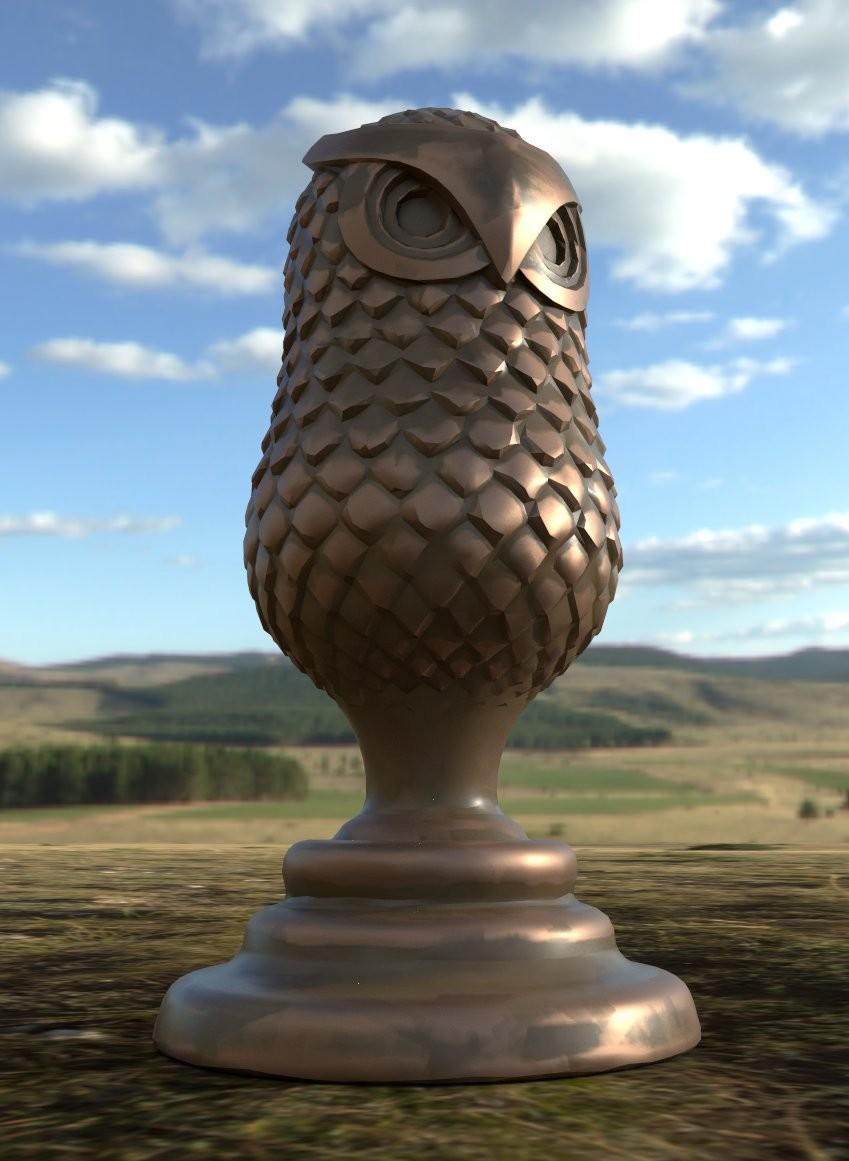 Iain gillespie owl trophy