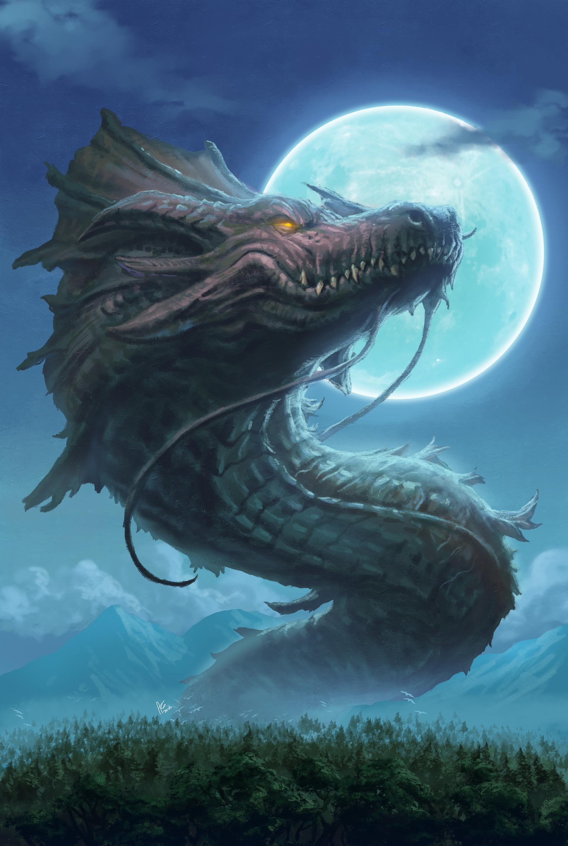 Privacy Policy >> ArtStation - Bakunawa The Philippine Dragon, Allen Michael Geneta