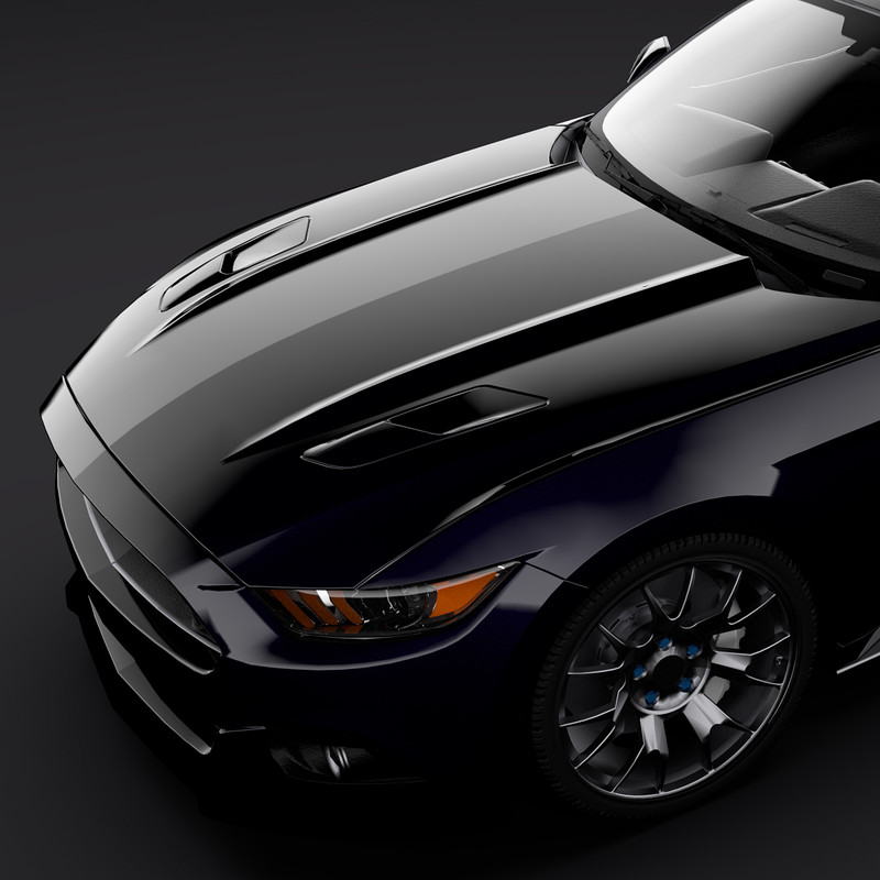 Ford Mustang [Game-Ready]