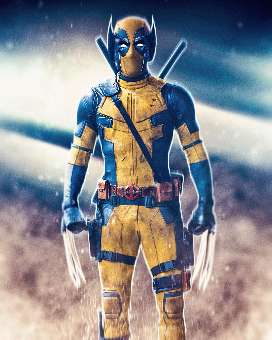 Deadpool x Wolverine mashup