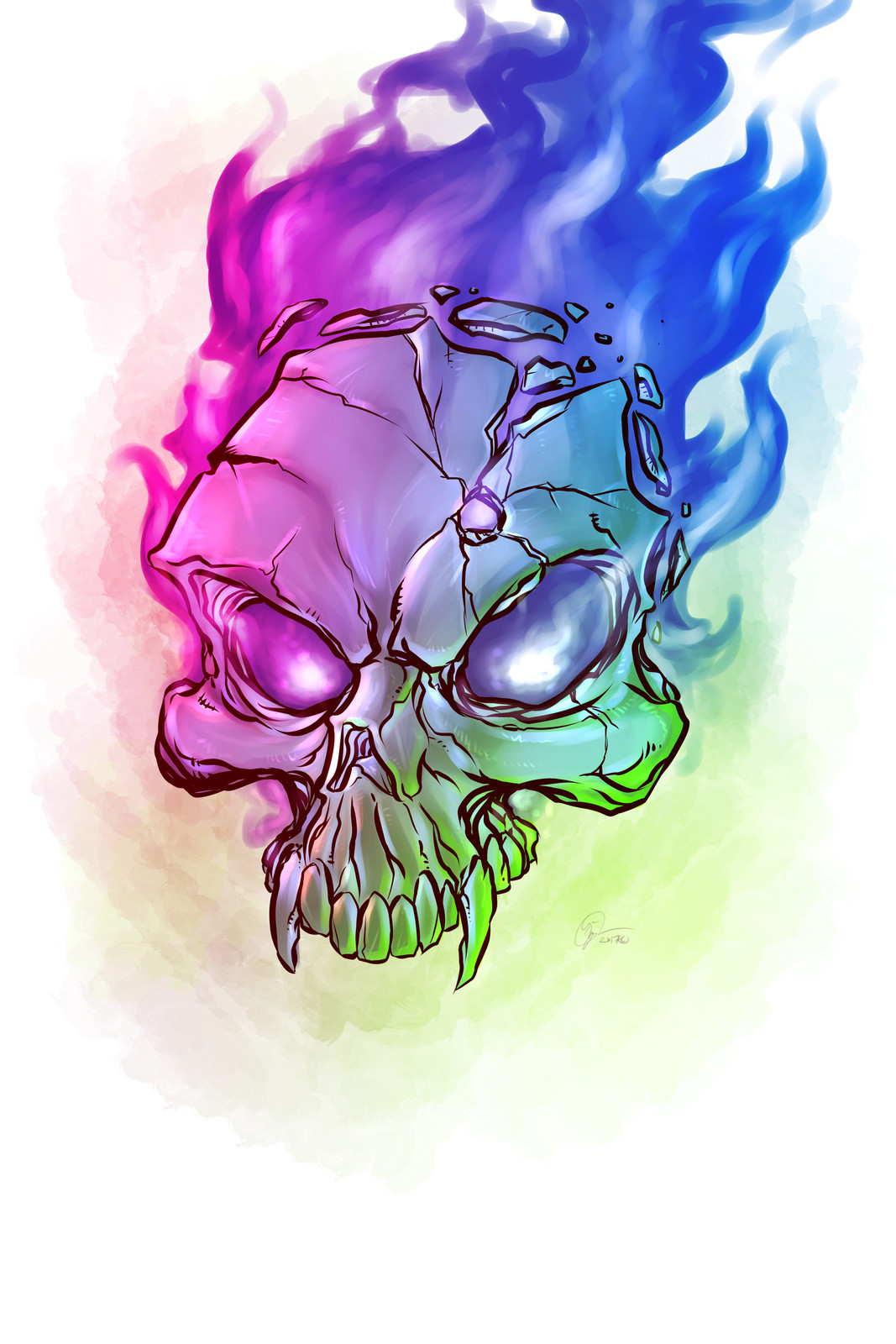 Kill Shot #Skull #SurfaceArt #CreatedOnSurface #Drawing #Sketch #Illustration #DailySketch #SketchBook #ConceptArt #CharacterDesign #Sketching #SurfaceBook2 #ClipStudio