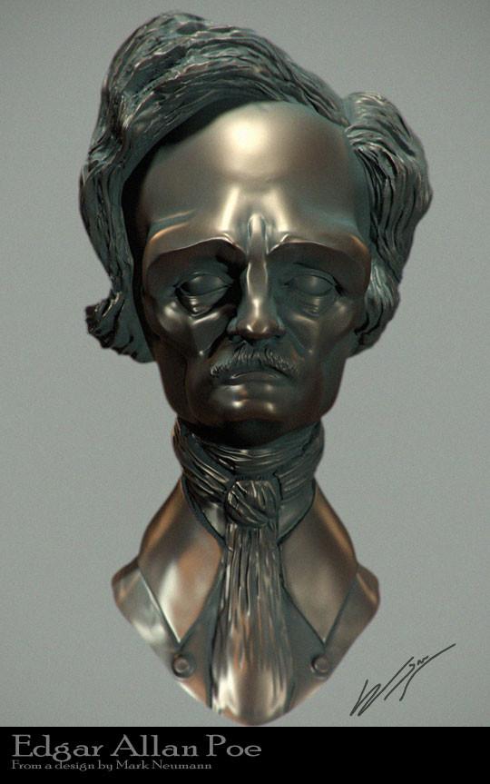 Edgar Allan Poe (from Mark Newmann concept)