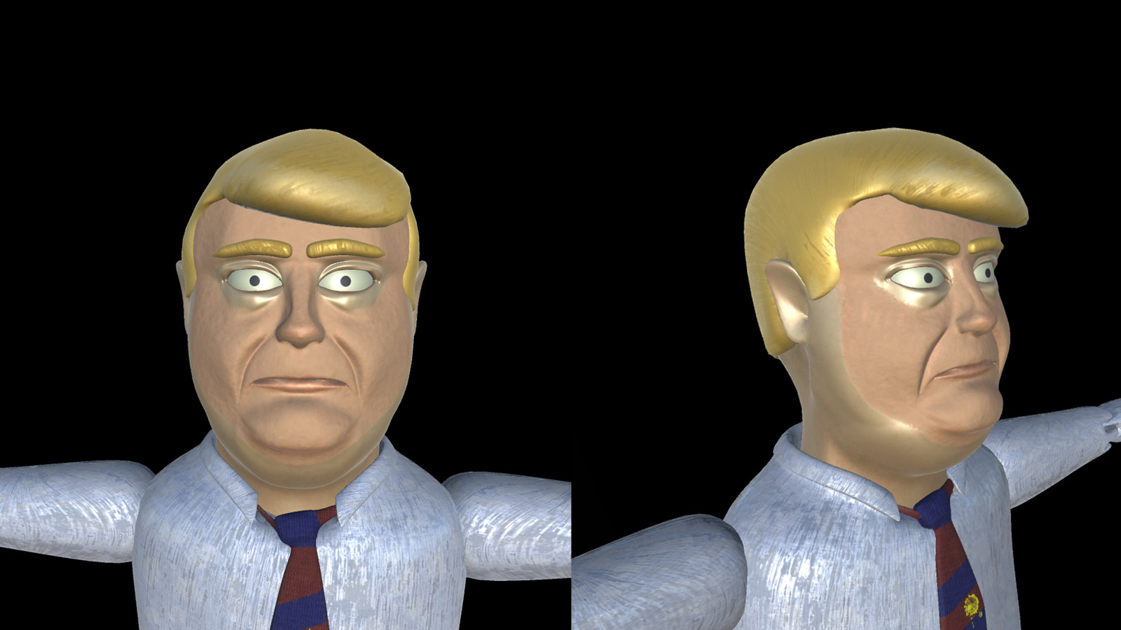 Tramp puppet.