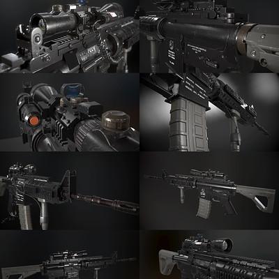 Long tri u t m4a1 carbine