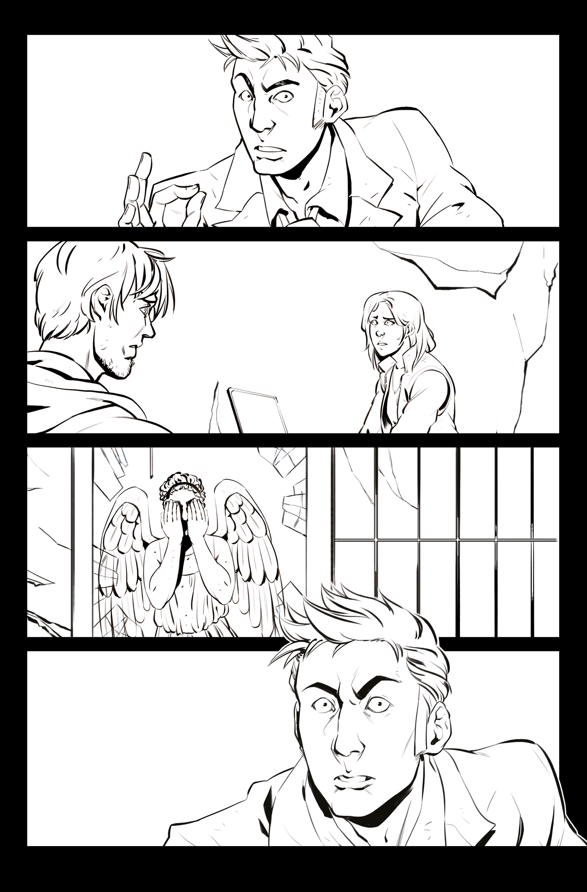 Claudia cocci doctor who page 01 new line
