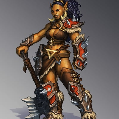 David haire orc girl