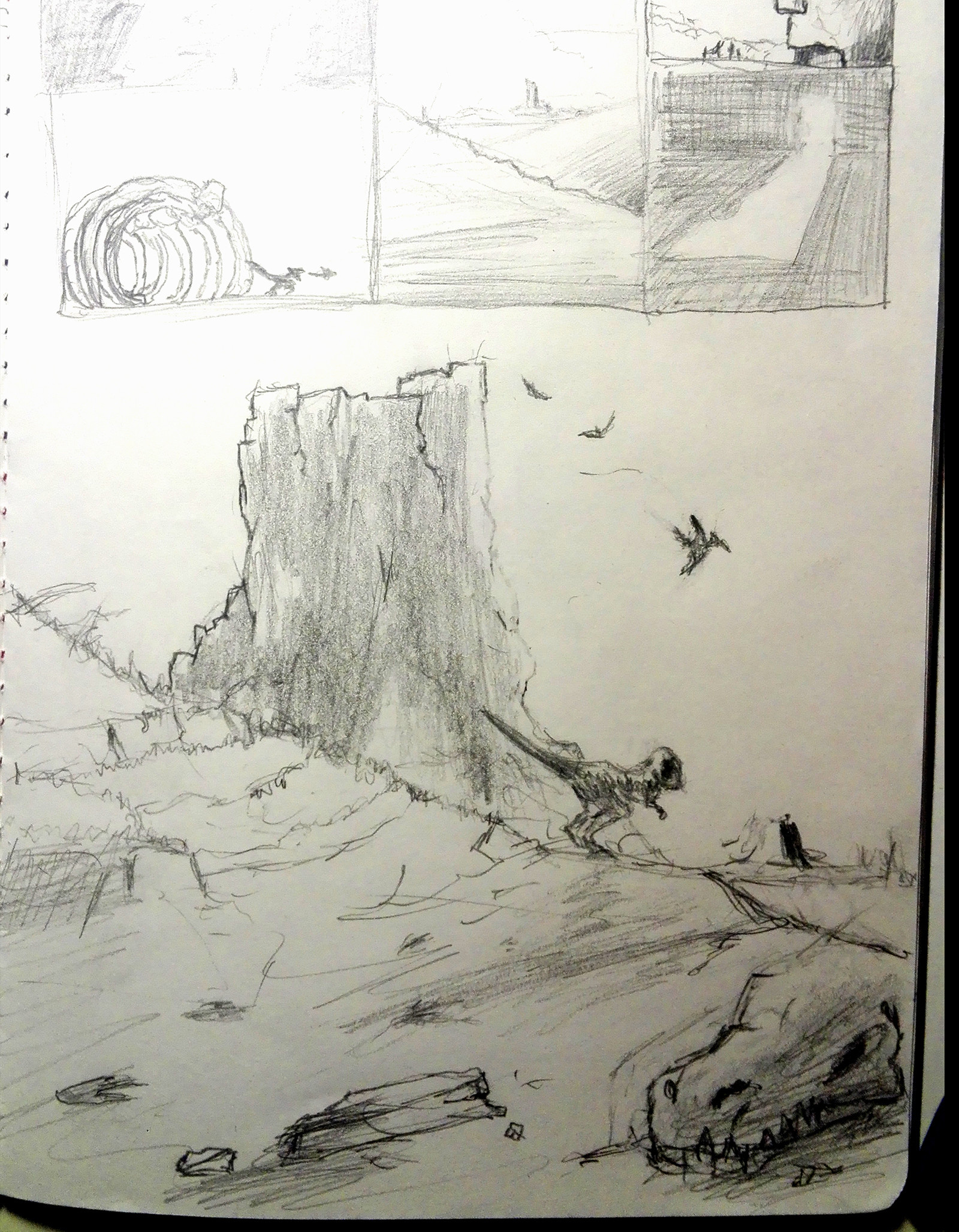 Martin jario jurassic sketch