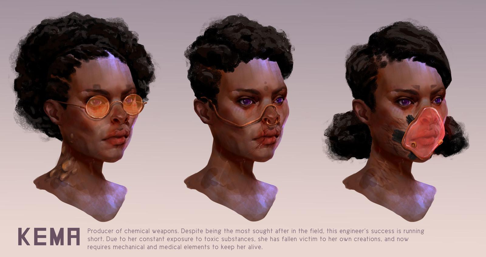 Kema- Character Concept Art