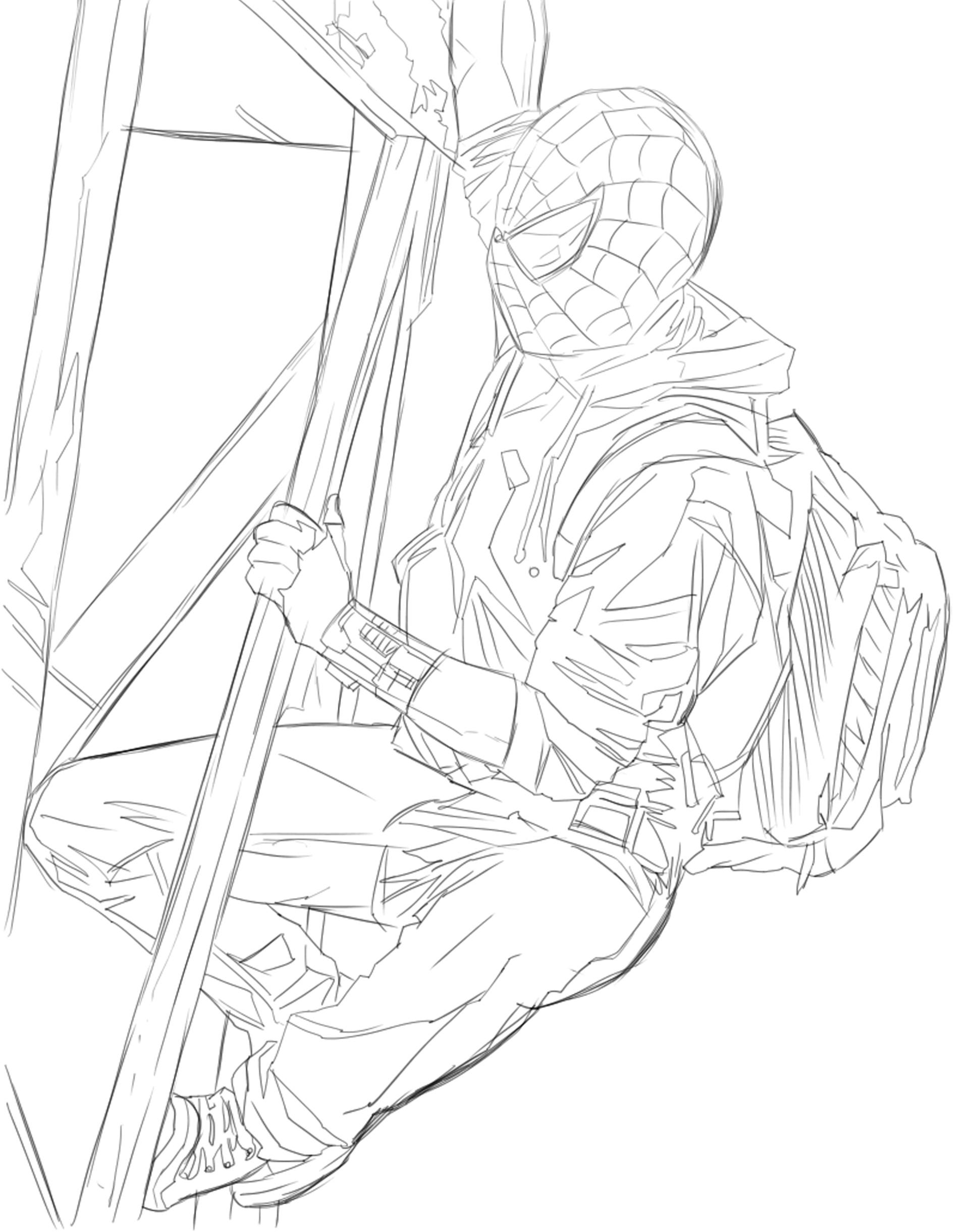 Manuel herrera araya spider man