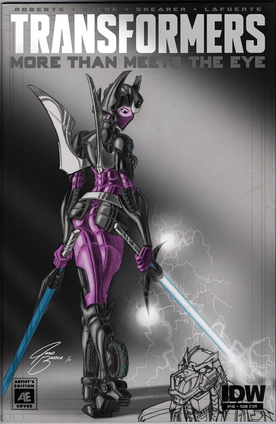 ArtStation - Transformers: Arcee blank comic illustration