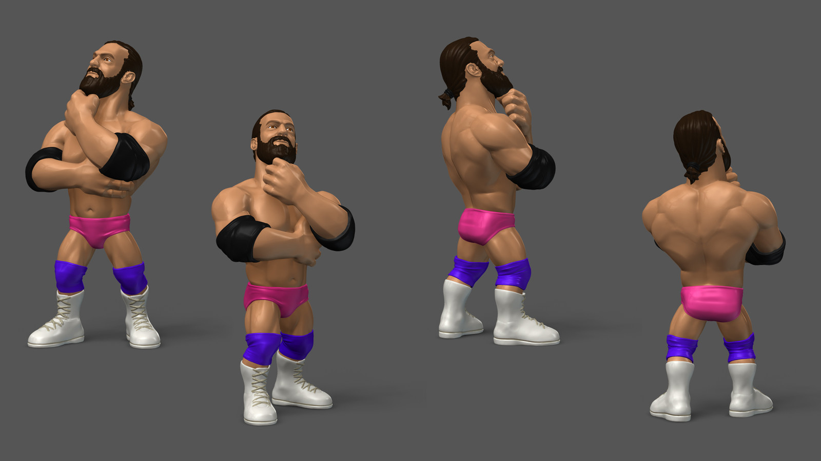 Damien Sandow - Toy Prototype