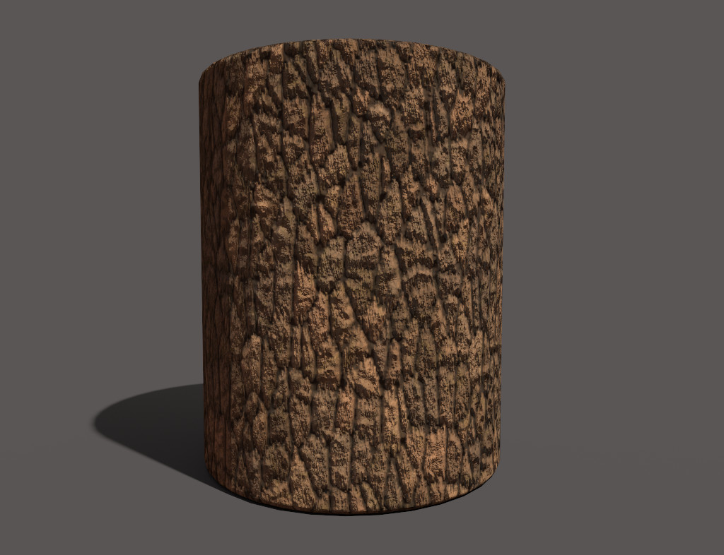 Thick Bark Smart Material