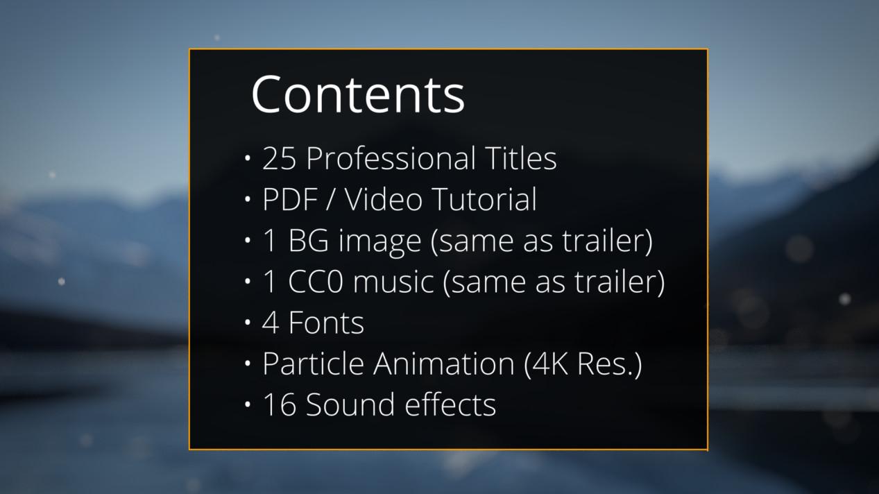ArtStation - 25 Professional Titles for Blender, Vikrant Jadhav