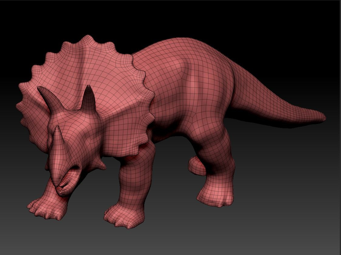 Dave riganelli triceritops zbrush1