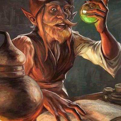 Egil thompson gnome alchemist