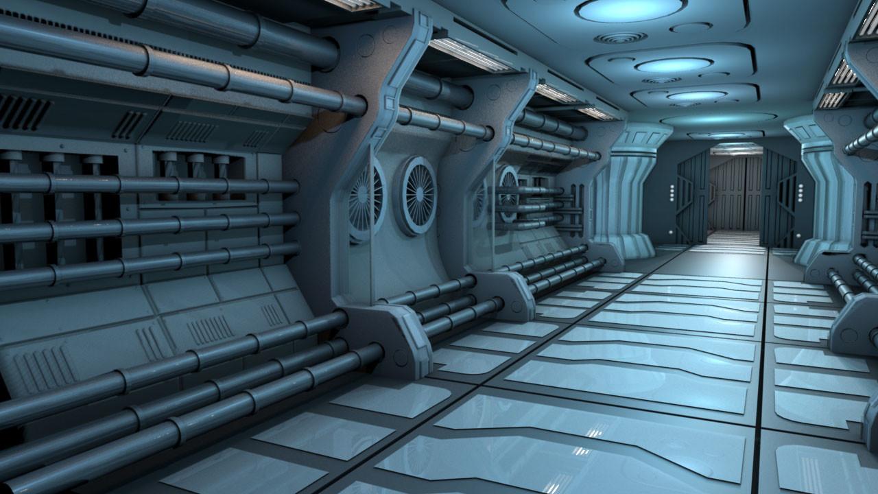 Shu Xian Ng - Sci-fi 3D environment