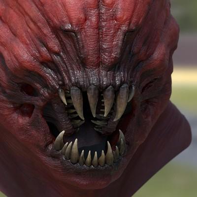 Mike poretti demon hex color