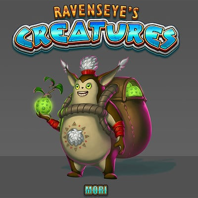 Travis lacey ravenseyes creatures 01 small