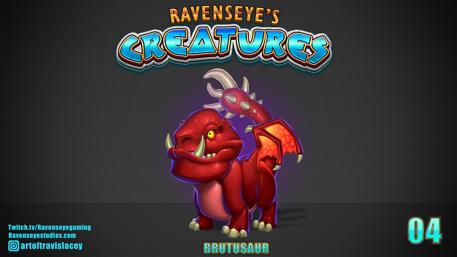 BRUTUSAUR - Creature 04