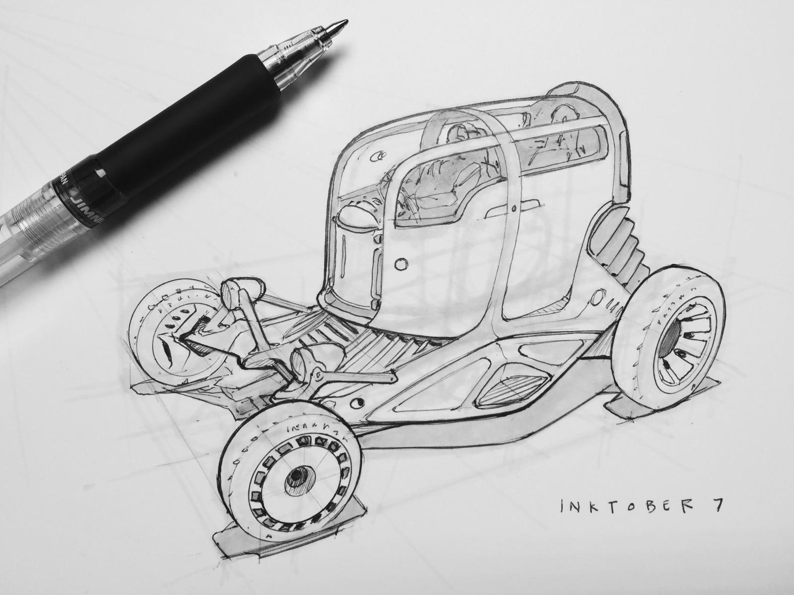 Original Scott robertson concept sketch.