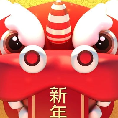 Tzuyu kao x lion dance cny greeting