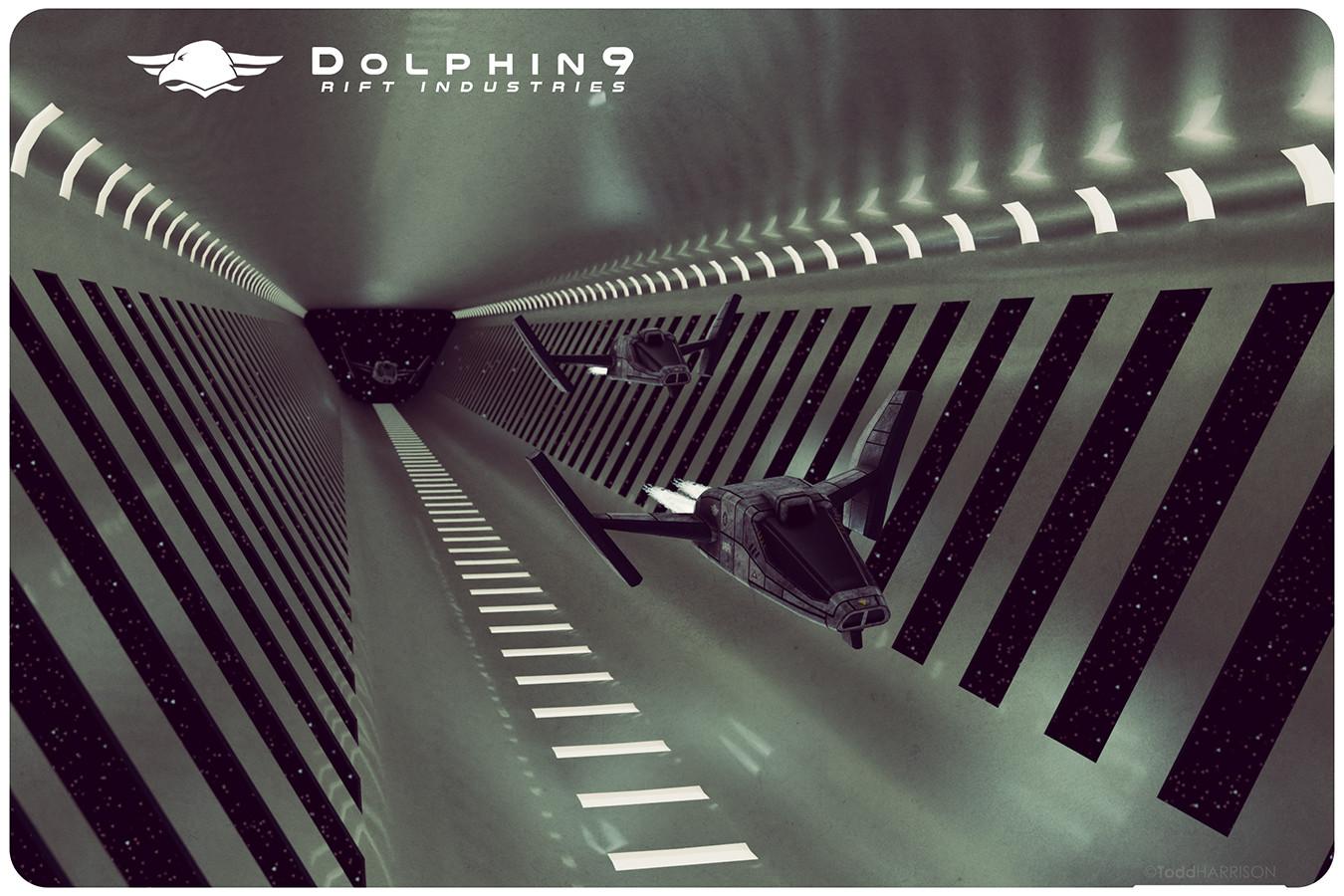 Todd harrison ri dolphin9 trio tunnel web