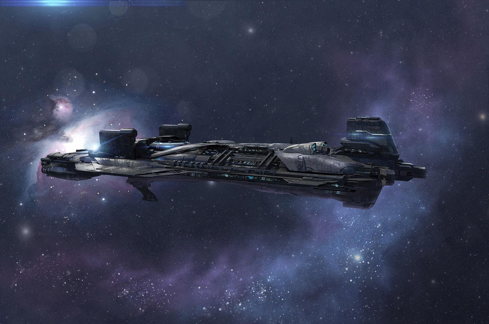 Artstation Halo Warfleet Illustrations Isaac Hannaford