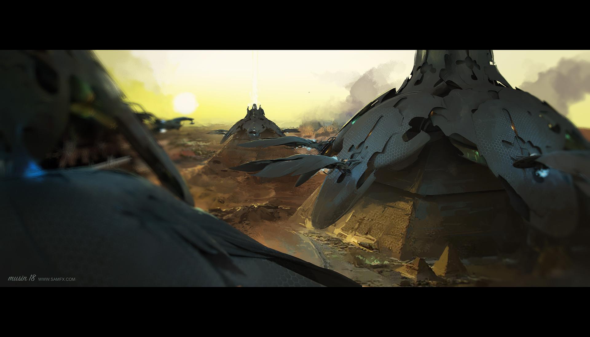 Sergey musin shiva fleet over the pyramids ver1