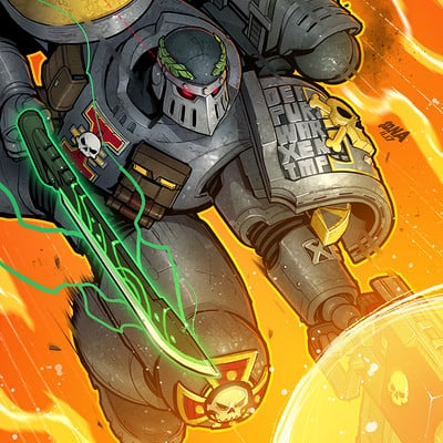 David nakayama warhammer deathwatch 1000v