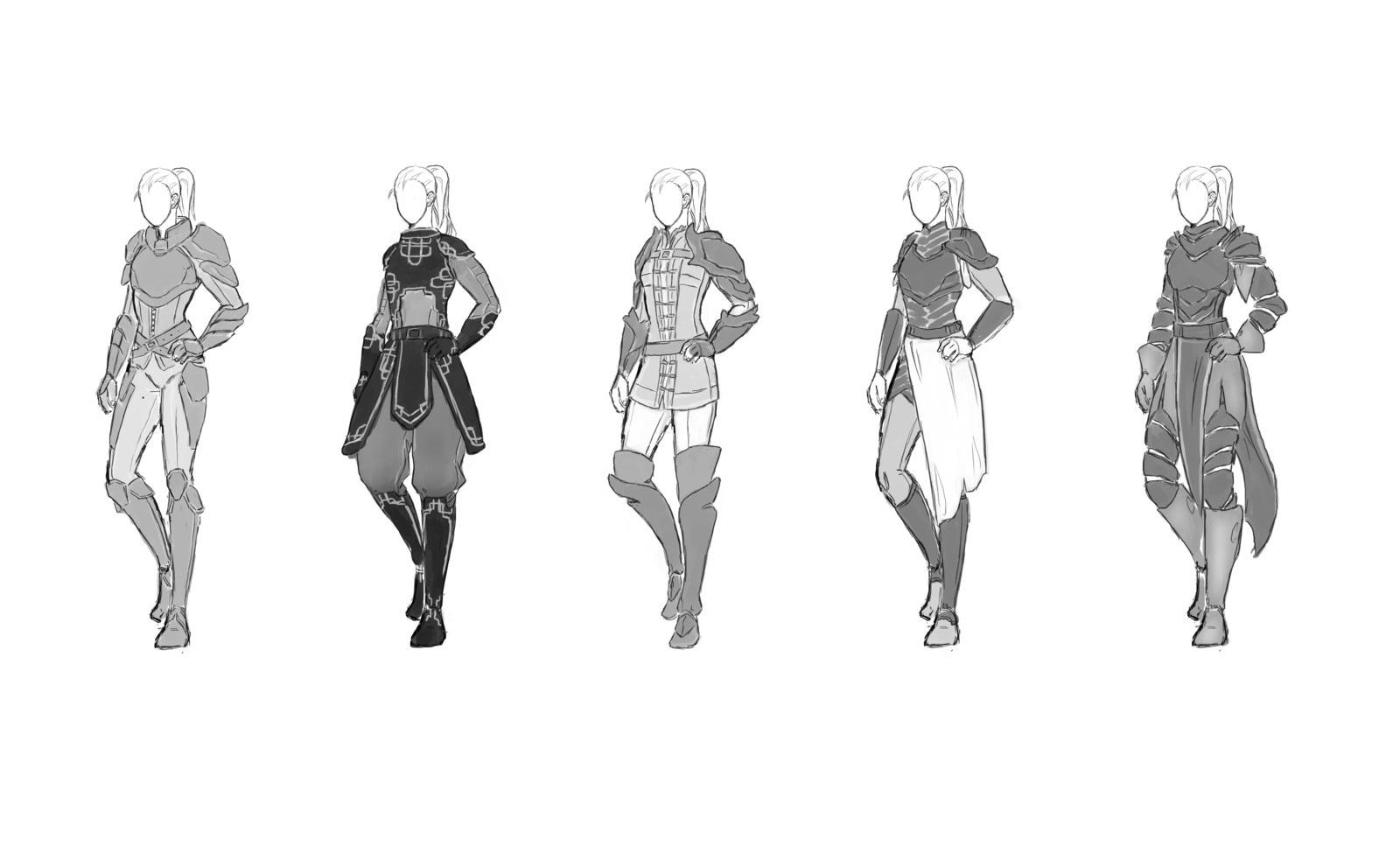 Character concept commission