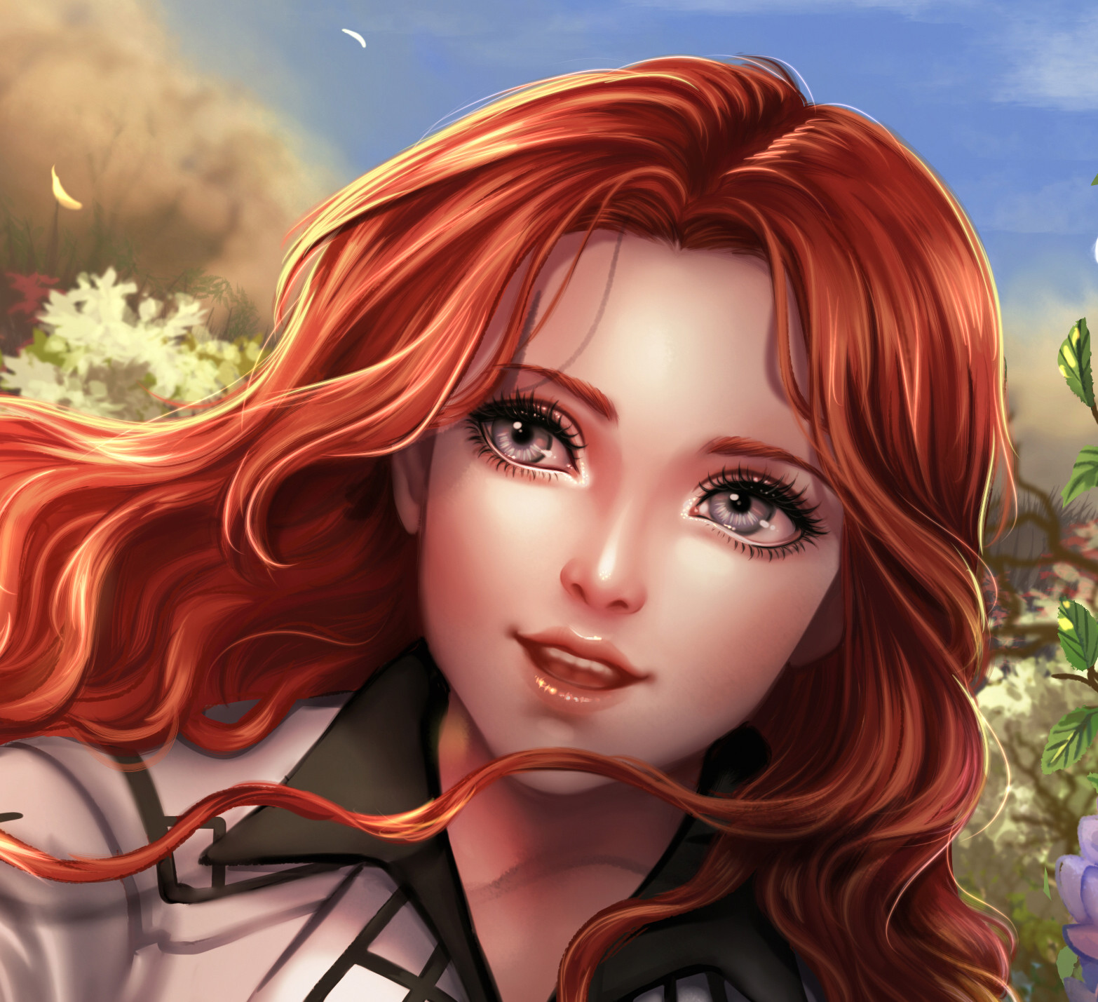 Nathania h comm for ladymidnightsolace detail2 by enmoire
