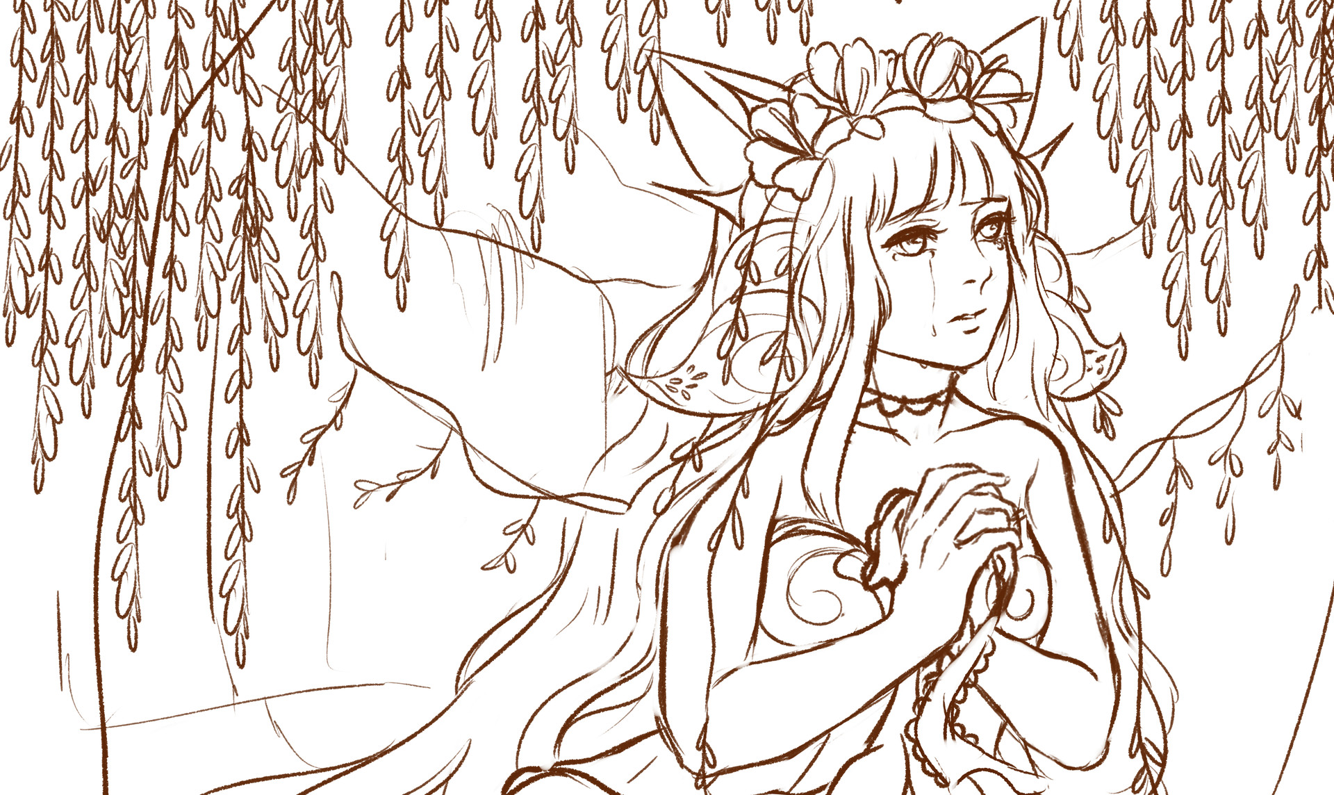 Nathania h comm for keelies sketch by enmoire