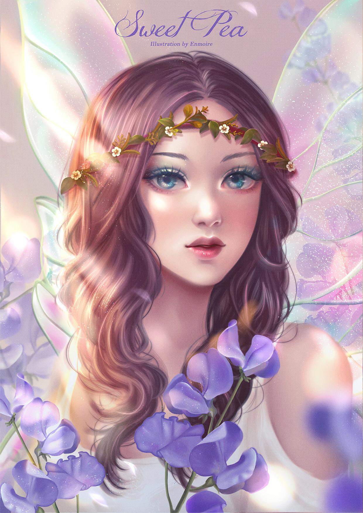 Nathania h sweet pea