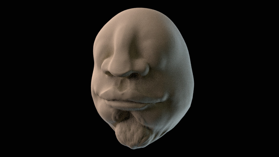 First steps into anatomical sculpting!