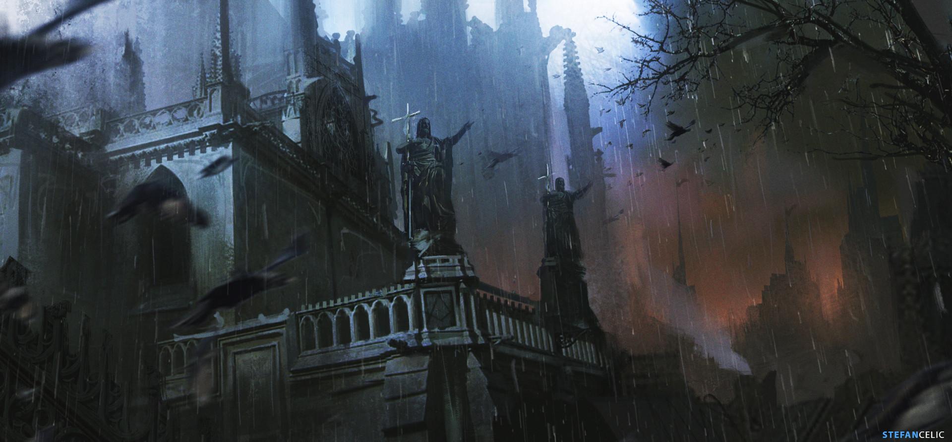 ArtStation - Dark Castle , Stefan Celic