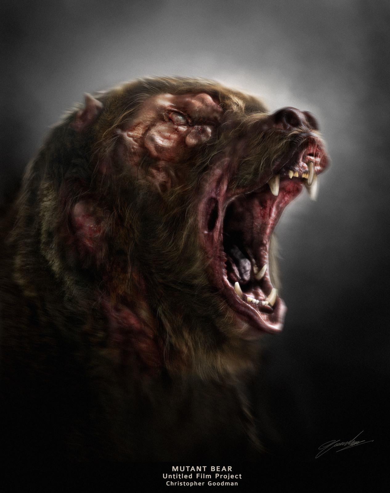Mutant Bear Version 2