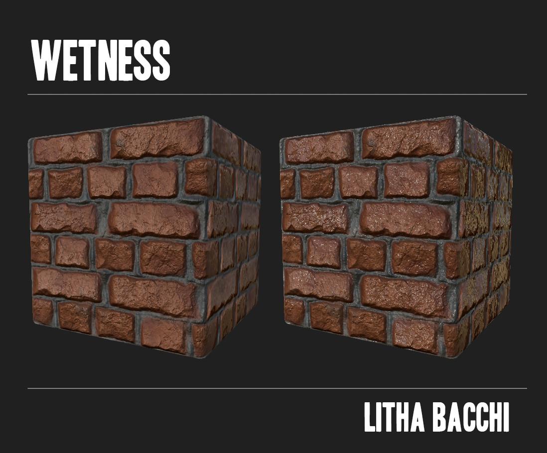 Litha bacchi wetness