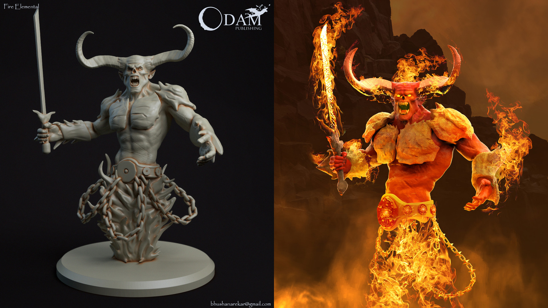 Bhushan arekar 13 fire elemental