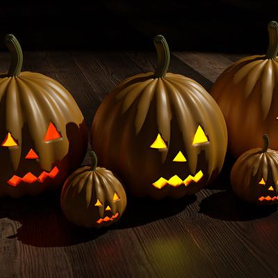 Auns baig haloween pumpkin 3 p