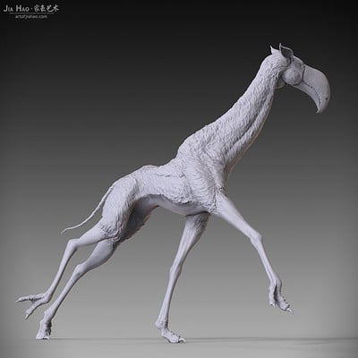 Jia hao 2017 toucafferunning digitalsculpting 04