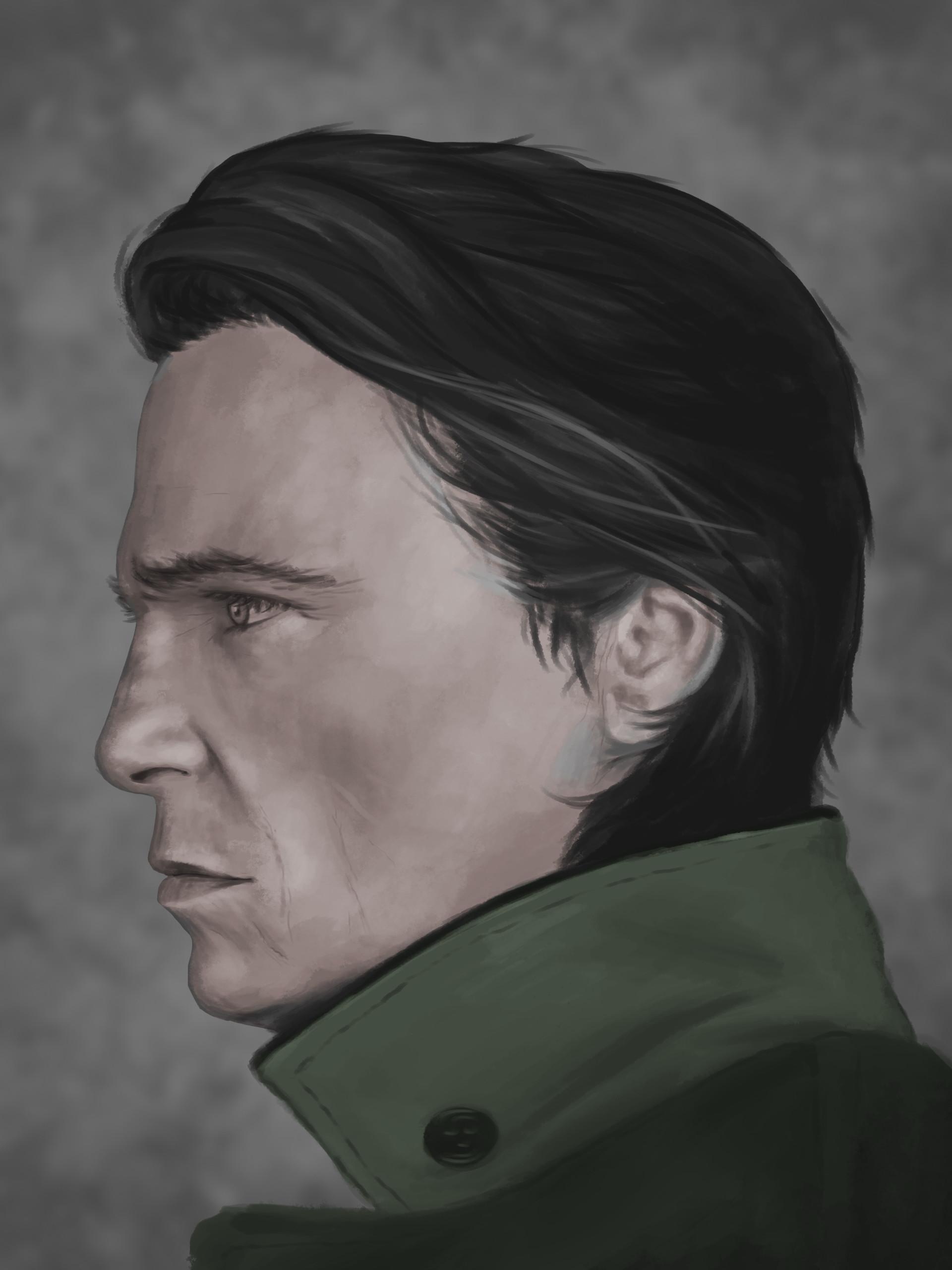 Lukas navratil paint portrait 2