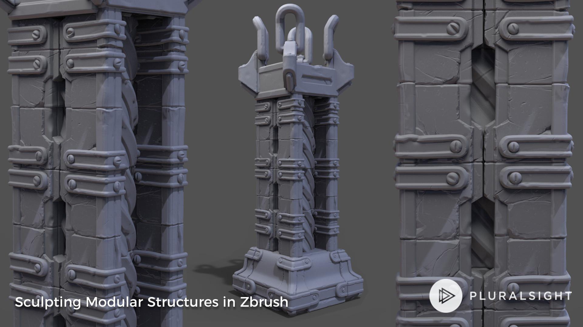 Dan john cox sculpting modular structures