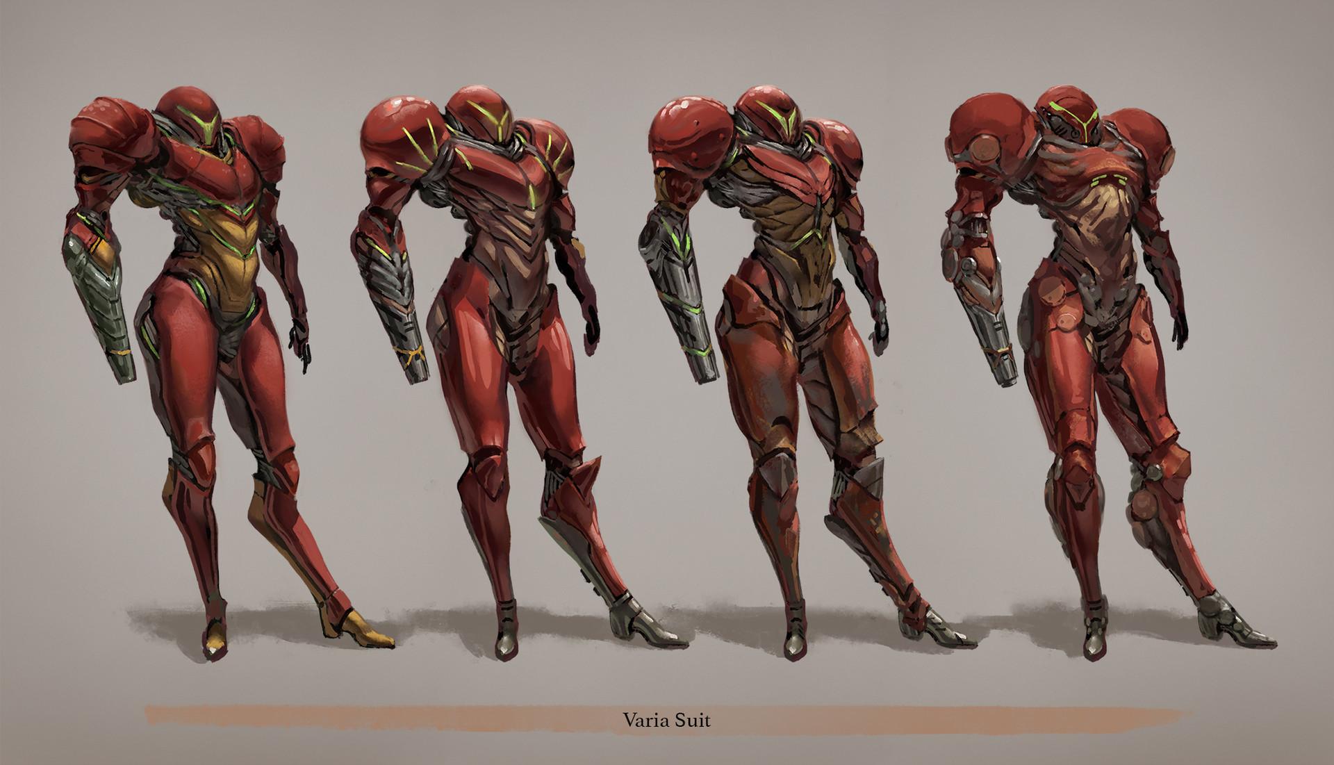 Armor Superhero Suit Concept Art
