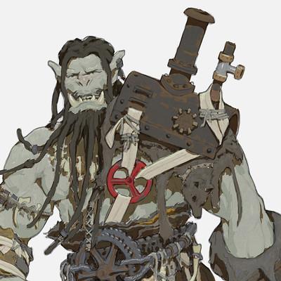 Anton solovianchyk orc steampunk anton solovianchyk