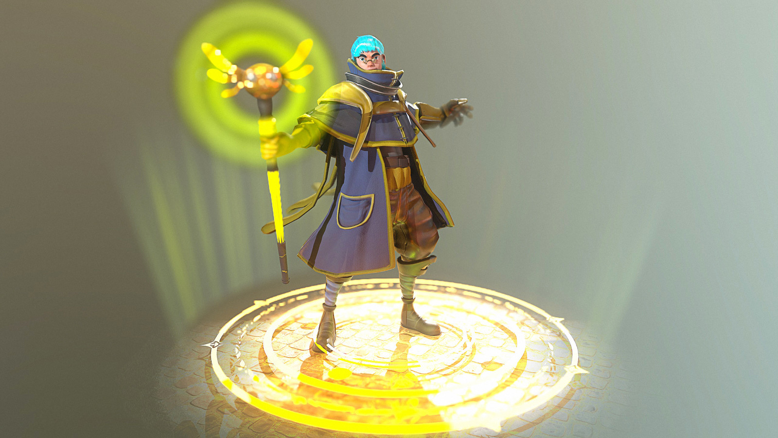 Marv - The Magical Mage