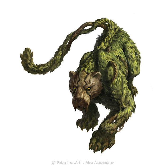 Dungeon Beast Auction [Grand Auction] Alex-alexandrov-island-guardian-color